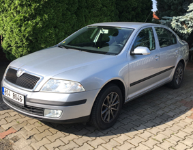 Vozy autopůjčovny Škoda Octavia II autopůjčovna Nymburk Poděbrady